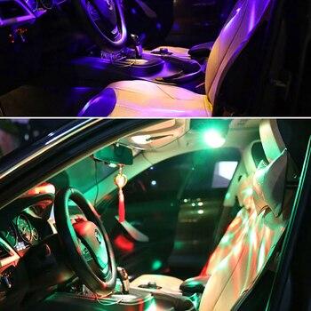 Led Disco Licht Musik Sound Aktiviert Bühne Lichter Mini Rotierenden Laser Projektor Weihnachten Party Zeigen Wirkung Lampe Mit Control