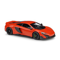 1:24 Scale19.5cm DieCast Model Classic Sport cool Car Model Mclaren 675lt With Steering Wheel Control Front Wheel Steering Toys