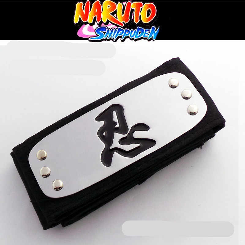 Cartoon Naruto Puur Katoen Zinklegering Cosplay Hoofdband Zeer Perfect Mooie Gift