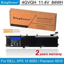 Новый аккумулятор kingsener 4gvgh для ноутбука dell precision