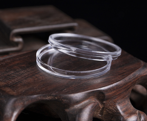 Image 3 - 100Pcs 30 millimetri Moneta Custodie Capsule Supporto di Plastica Trasparente Scatola Di Immagazzinaggio Rotonda 28Set