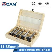 XCAN Wood Hole Cutter 15/20/25/30/35mm wiertła forstnera piła walcowa wiertło do drewna