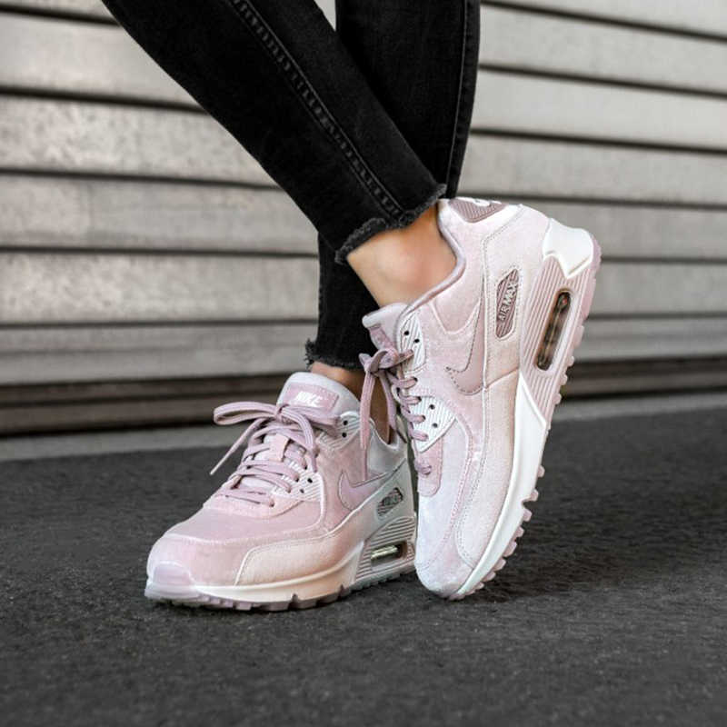 Original NIKE AIR MAX 90 LX Women's Running Shoes Sport Outdoor Sneakers Lace up Durable Athletic Designer Footwear New Arrival