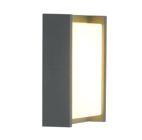 Креативный дверной светильник для балкона, водонепроницаемый настенный светильник, светодиодный внутренний двор, китайский современный минималистский дом, наружная настенная наружная лампа - 4
