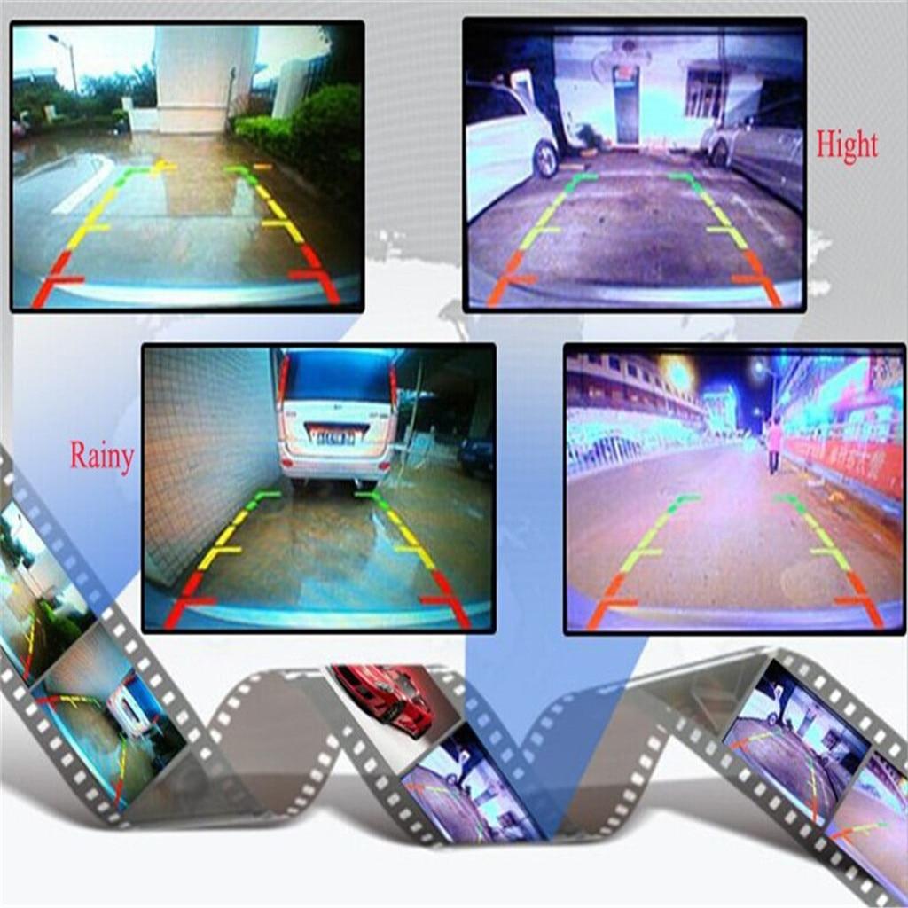 7' автомобиль на тонкопленочных транзисторах на тонкоплёночных транзисторах ЖК дисплей мониторное зеркало 18 светодиодный HD камера заднего вида комплект камеры с резервированием данных - 3