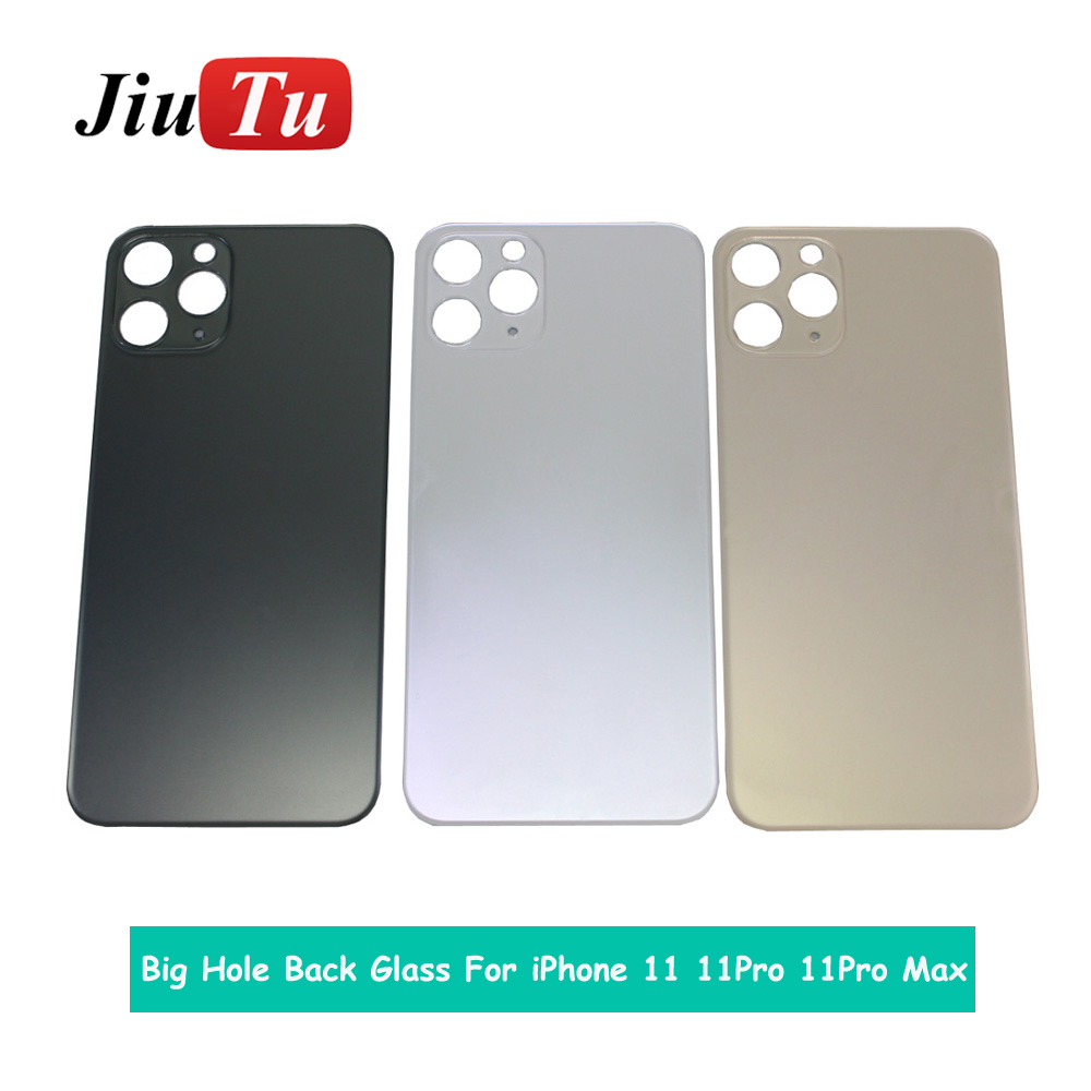 Back Cover Glass Rear Housing For iPhone X 8 Plus XS XSMAX Rear Door Body Assemble Housing with big hole (3)