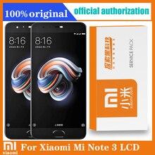 Original lcd com moldura para xiaomi mi note3 display lcd tela de toque com moldura substituição acessórios para xiaomi mi nota 3 lcd