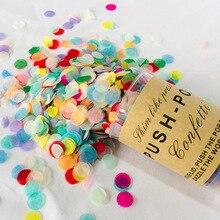 30 г Бумага конфетти из фольги Салют конфетти Holding толкателя трубки Единорог День рождения Baby Shower Юбилей Свадебные украшения