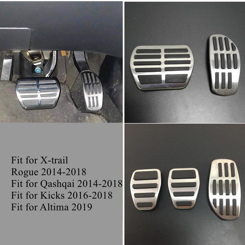 f/ür Maserati Ghibli Quattroporte 2014 2017 Levante 2017 Auto Styling Dekoration CFHMLK Edelstahl Gasbremse Fu/ßst/ütze Pedal Pad