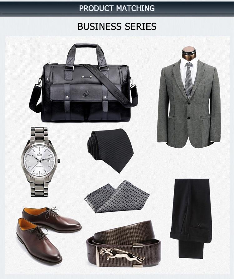 H39caa0ac3f4e425faa607bbb774c14aeQ Men Leather Black Briefcase Business Handbag Messenger Bags Male Vintage Shoulder Bag Men's Large Laptop Travel Bags Hot XA177ZC