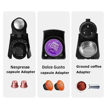 HiBREW Espresso Coffee Machine 3-In-1 Multi-Function;Coffee Maker,Espresso Maker,Dolce gusto capsule coffee machine, 4