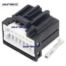 16 Pin Car Plug Harness 175966-2 Connector with Terminal DJ7161C-1-21