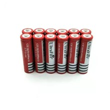 8X 18650 Free shippng Li-ion Rechargeable 3.7V 6800mAh Battery for Flashlight Newest