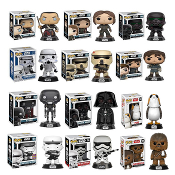 цена на FUNKO POP vinyl dolls Star Wars pvc CHEWBACCA action figure collection model toys for children birthday Gift with retail box
