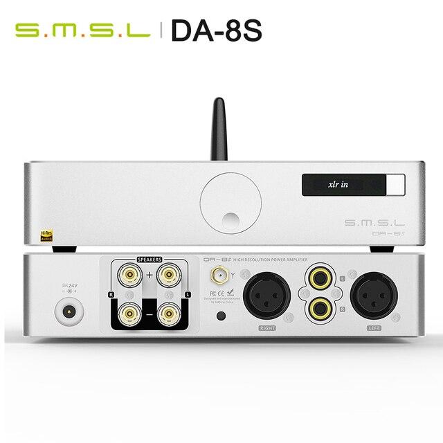 SMSL DA 8S 80 W/PC מלא מאוזן Bluetooth5.0 דיגיטלי מגבר AMP 80 W/PC מלא מאוזן Bluetooth מרחוק תמיכת aptX דה 8S DA8S