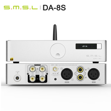 Smsl DA 8S 80 Wát/cái Full Cân Bằng Bluetooth5.0 Bộ Khuếch Đại Kỹ Thuật Số Amp 80 Wát/cái Full Cân Bằng Từ Xa Bluetooth Hỗ Trợ AptX Da 8S DA8S