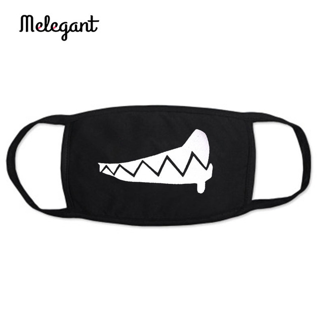 1 Pc Cotton Black Mouth Mask Washable Reusable proof Flu Mouth-muffle 5