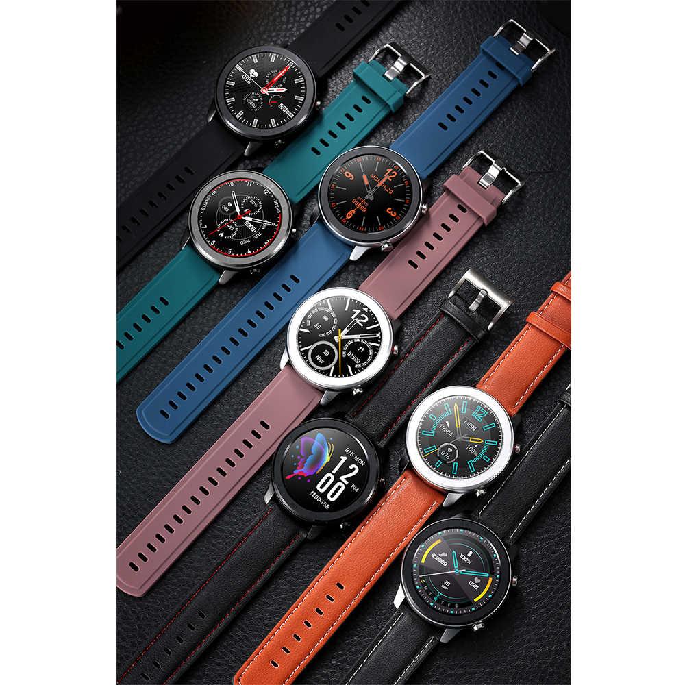 LEMFO Accesorios inteligentes para Smart Watch ZL01,L7,L8,L9,DT78,LEM11 correa de silicona de repuesto de acero antipérdida