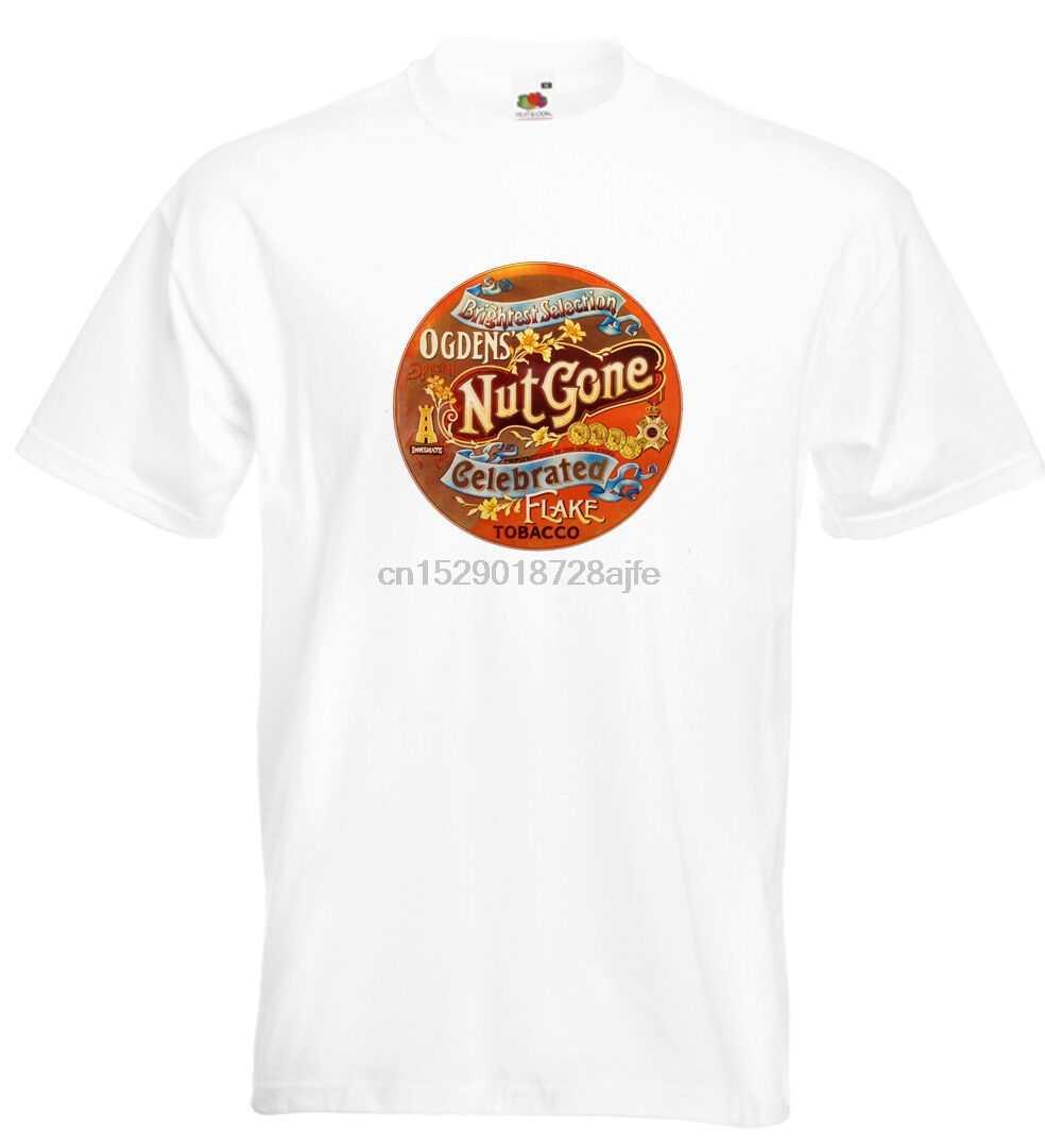 De Kleine Gezichten Ogdens Moer Gegaan Vlok T-shirt Steve Marriott Ronnie Lane MOD