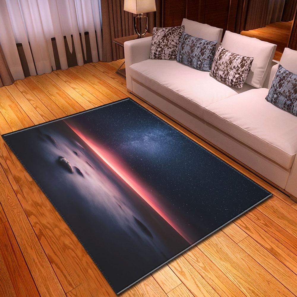 Carpet Home Decorative Night Scenery