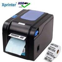 Drukarka kodów kreskowych Xprinter drukarka termiczna, paragon drukarka etykiet kod kreskowy kod QR naklejka maszyna 20mm-80mm z automatycznym zdejmowaniem
