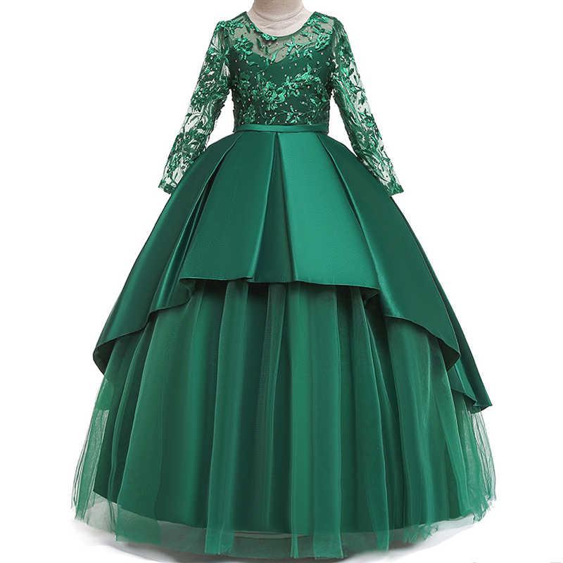 Бальное Платье Зеленого Цвета