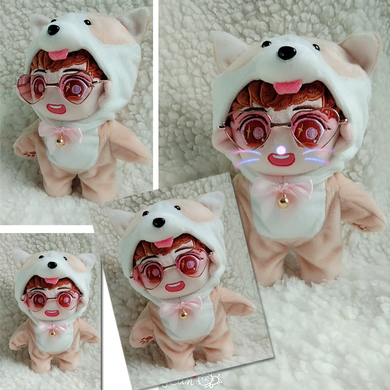 MYKPOP KPOP Doll s Clothes Accessories Corgi Doll Pajama Bodysuit for 20cm Doll KPOP Fans
