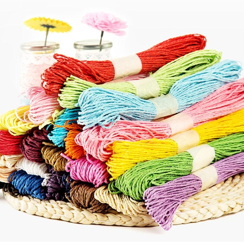 5Pcs/set Colorful Paper Rope For Handmade DIY Art Crafts Kindergarten Toys Wedding Cake Decoration Scrapbooks Children Toy