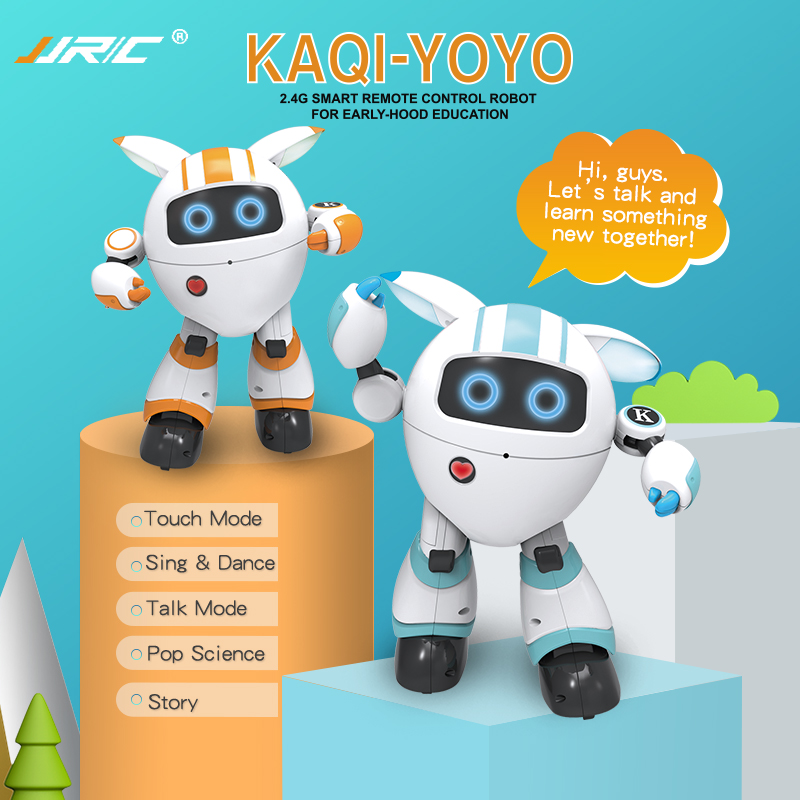 JJRC R14 Remote Control Robot Intelligent Music Dancing I Robot Rc Robo Poetry Robotica Kids Toy For Children Robotica Educativa image