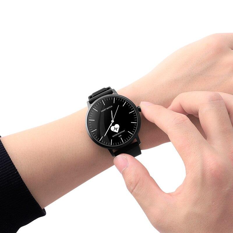 pedômetro à prova dwaterproof água relógio inteligente