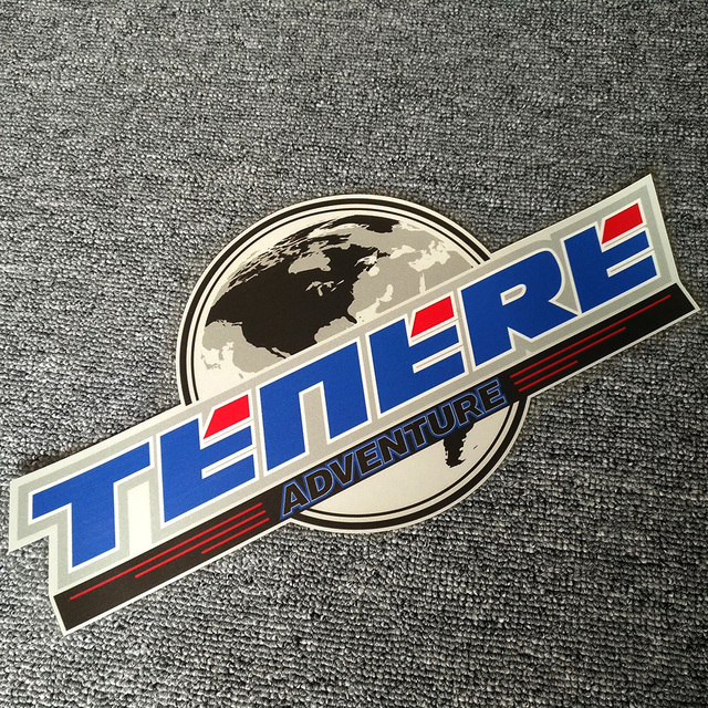 Para YAMAHA ADVENTURE TOURING TENERE 1200 XT1200Z SUPER motocicleta pegatina parte superior lateral Panniers equipaje caja de aluminio