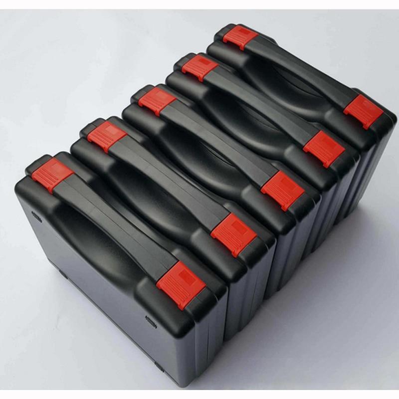 Cassetta portautensili in plastica per valigie Cassetta degli attrezzi valigetta impermeabile resistente agli urti custodia per fotocamera con schiuma pretagliata spedizione gratuita