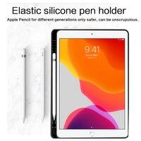 """התאורה האחורית Bluetooth אנגלית מקלדת עבור 10.5"""" 10.2"""" iPad פרו iPad 3 אוויר iPad Slot 2019 7 צבעי התאורה האחורית Tablet עור מקלדת Case פן (5)"""