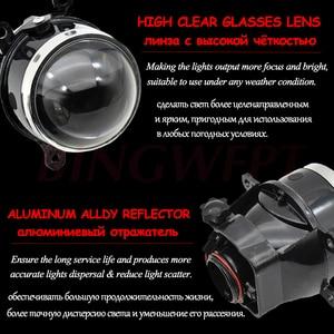 Image 4 - 2pcs HID Bi xenon Fog Lights For Grand Vitara 2 / II JT 2005 2015 Projector Lens Retrofit XL7 Swift SX4 Alto Splash Jimny Ignis