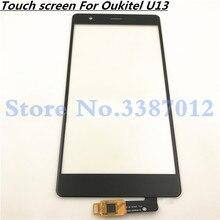 5,5 ''Замена высокого качества для Oukitel U13 сенсорный экран дигитайзер сенсор внешняя стеклянная панель объектива