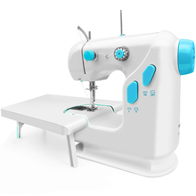 220v automatic cnc programming winding machine 110-220V Sewing Machine Portable Clothes Fabric Electric Sewing Machine Automatic Winding Low Noise Quick Stitch Sew Needlework