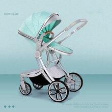2020 New 2 in 1 Infant Travel Pram High-Grade Baby Stroller High Landscape Infant Carriage