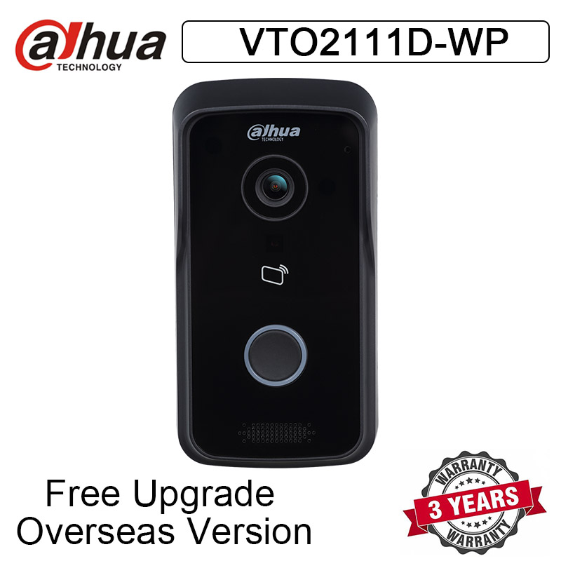 Doorbell Outdoor-Station Voice-Indication VTO2111D-WP Video-Intercom Wifi Night-Vision