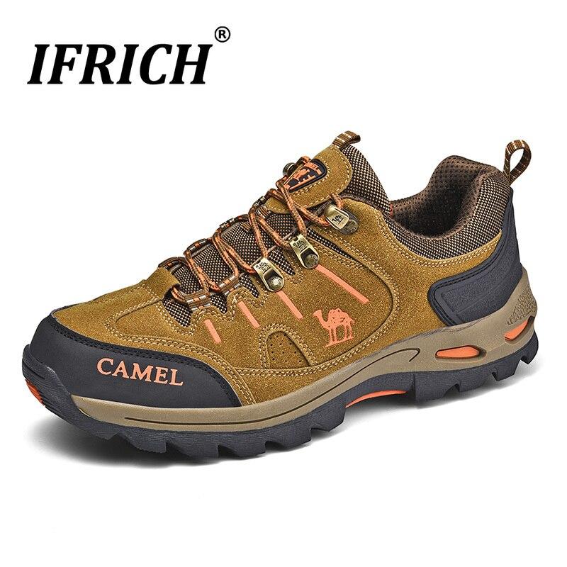 Новинка; сезон осень-зима; походная обувь для мужчин; резиновая уличная спортивная мужская обувь; дизайнерские Походные сапоги мужские прот...