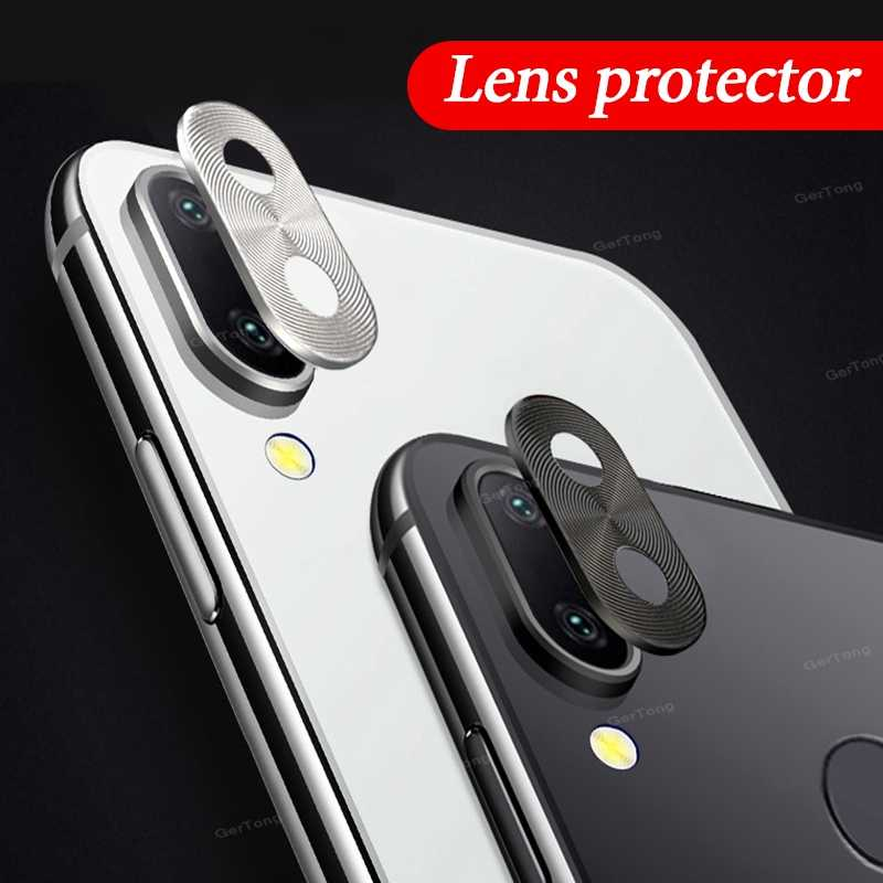 For Redmi Note 7 Camera Lens Protector Cover Ring Plating Aluminum For Xiaomi Redmi Note 7 Pro Note7 Camera Case Ring Protection