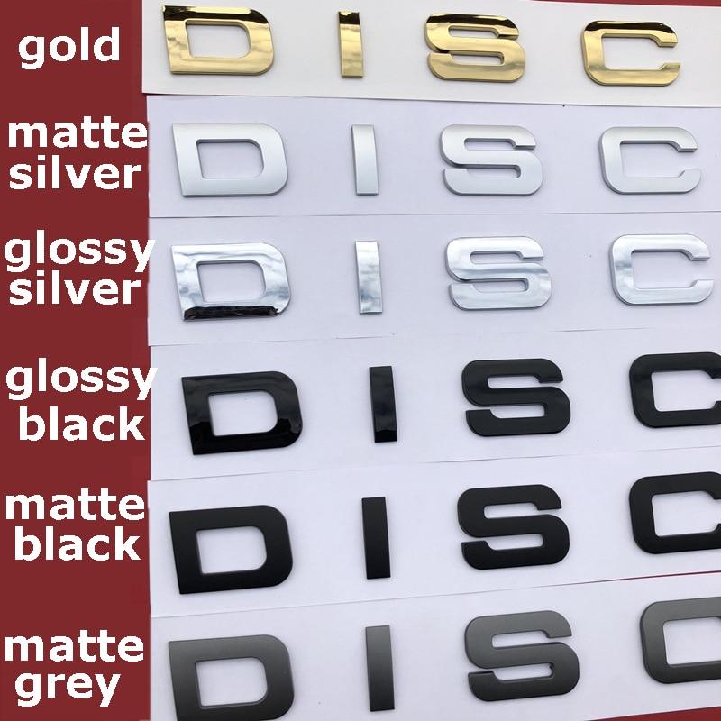 letras diy emblema emblema carro estilo capa e tronco adesivo para a descoberta esporte suv estrela