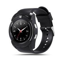 цена на Waterproof Smart Watch Men with Camera Bluetooth Smartwatch Pedometer Heart Rate Monitor Sim Card Wristwatch Sport on Wrist