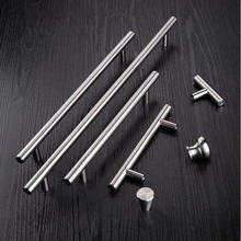 Furniture Handles 50mm-500mm Stainless Steel T Bar Handles for Furniture Cabinet Knobs and Handles Pull for Cupboard Door