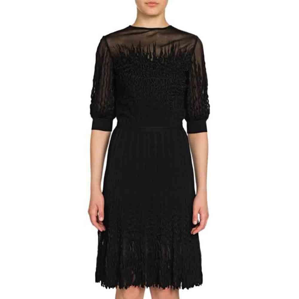 Ocstrade 2020 Summer New Half Sleeve Bodycon Dress Woman Black Bodycon Dress Party Sexy MeshCelebrity Evening Party Dress