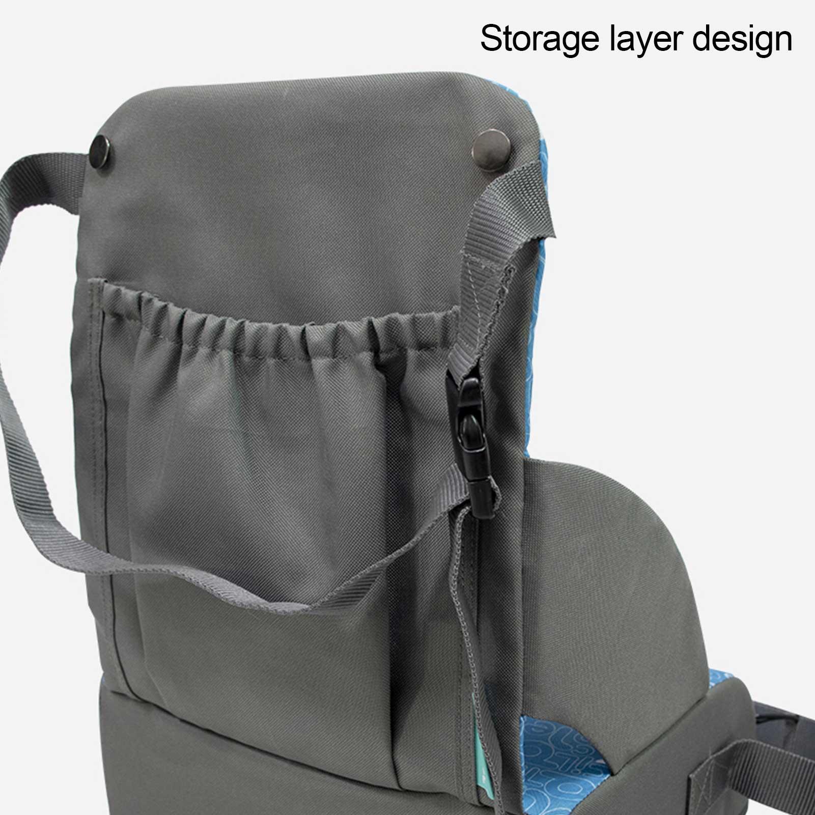 Детское кресло, складной моющийся высокий обеденный чехол для новорожденных, ремень безопасности, аксессуары для кормления и ухода за ребенком, для путешествий 5