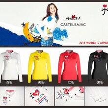 QWomen спортивная одежда с длинными рукавами футболка для гольфа 4 цвета одежда для гольфа s-xxl выбрать повседневная одежда для гольфа