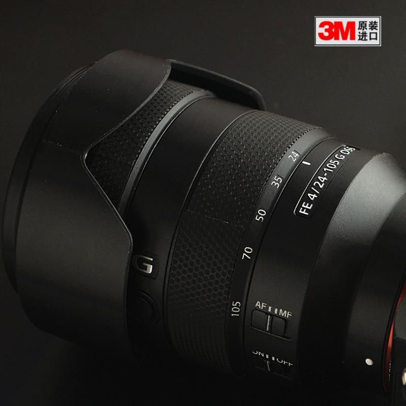 Peau de décalcomanie de lentille pour Sony FE 24-105 F4 protecteur anti-rayures manteau housse de protection