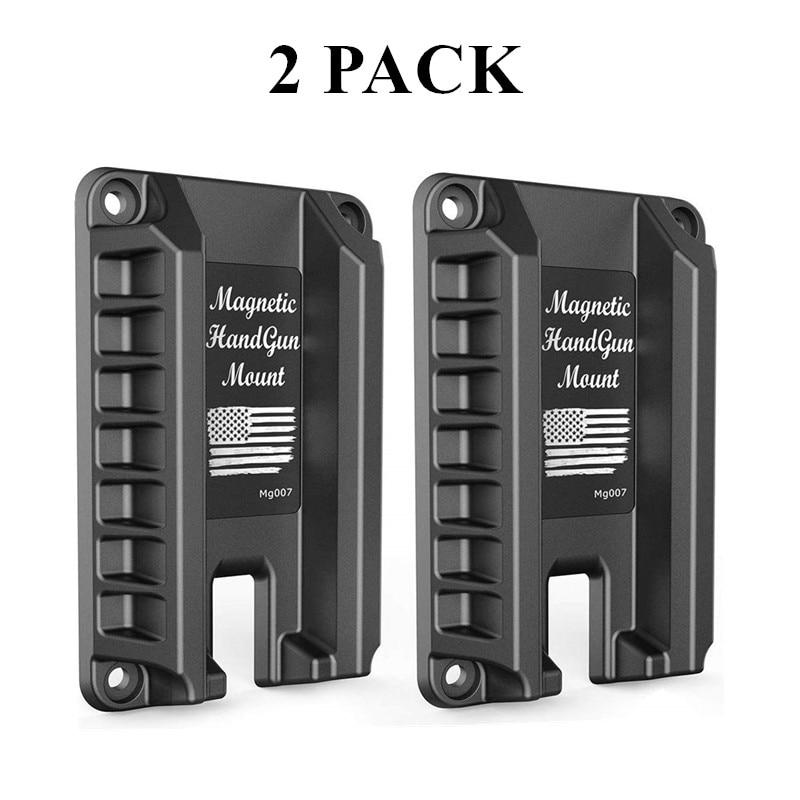 Magorui Tactical Magnetic Gun Mount Handgun Mount/Holder Gun Accessories Holder For ,Car, Wall, Checkout Counter