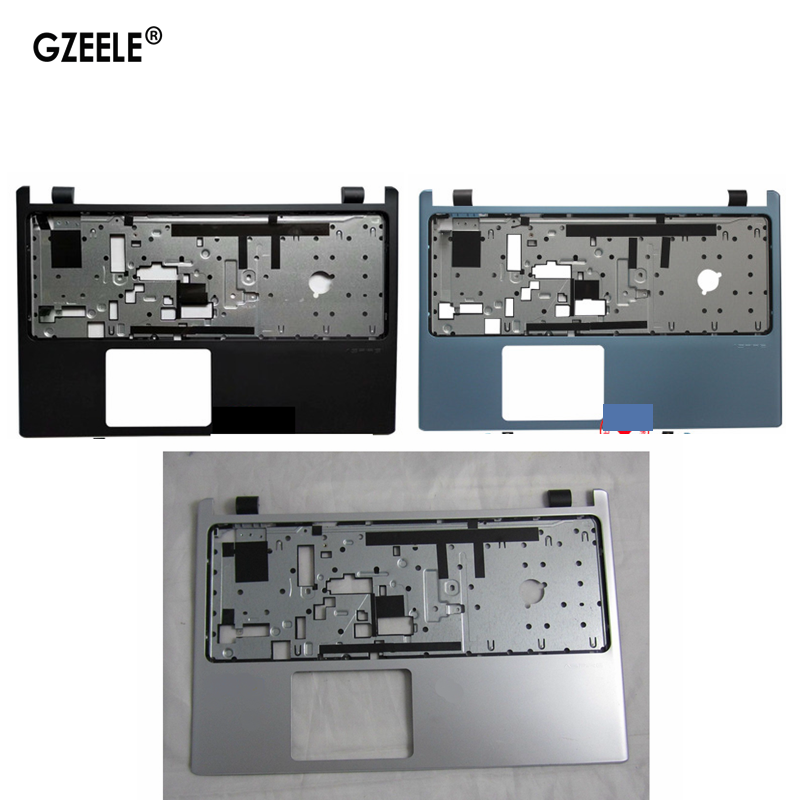 New laptop Upper Case Cover For ACER Aspire V5-531 V5-531G V5-571 V5-571G Palmrest non-touch bezel keyboard silver
