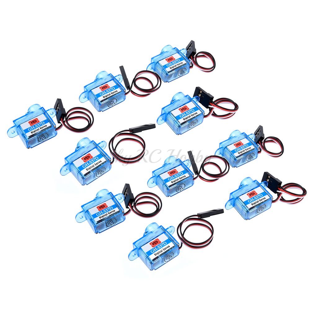 PES GH-S37D 3.7g Servo Mini Micro Servo For RC Plane Helicopter Boat Car Trex 250
